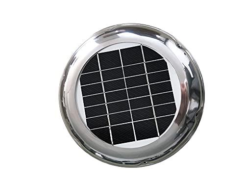 CATPET Window Fan 2.5W Solar Vent Fan Roof Exhaust Ventilation Extractor...