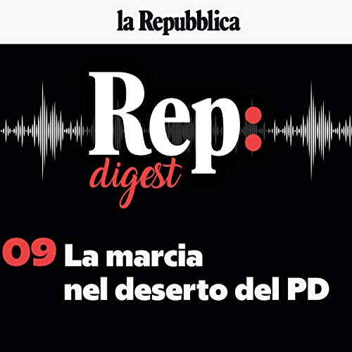 La marcia nel deserto del PD audiobook cover art