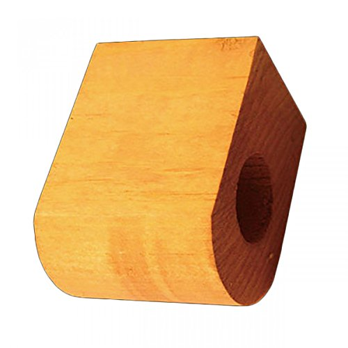 "Curtain Rod Coupler Support Heirloom Pine 3"" Projection 