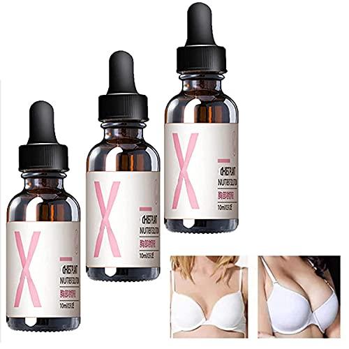 Hawtrytoa 3PCS Organic Perky Lymph Drainage Chest Oil,Fast Breast Grow Big Boobs Firming Massage Oil,Remove he Ugly Underarm Fat,Postpartum Repair and Firming Breast serum?10ml?
