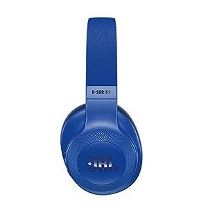 JBL E55BT Over-Ear Wireless Headphones Blue (Renewed)