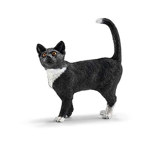 Schleich 13770 - Katze - stehend, Tier Spielfigur
