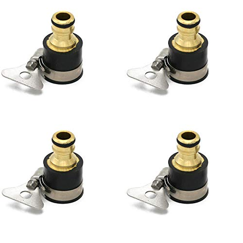 Universal tuinslang kraanstuk Messing Kraan Adapter Female Garden Quick Connect voor Kitchen Comfortabele Connection,4pcs