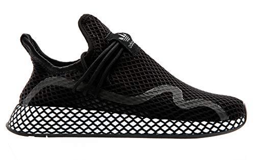 adidas Originals Deerupt S, Core Black-Core Black-Footwear White, 4