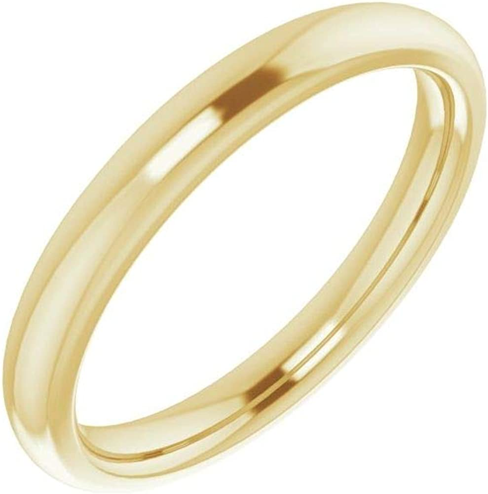 Austin Mall Solid 10K Yellow Gold Curved Super Special SALE held Notched Wedding for Sq x 8 8mm Band