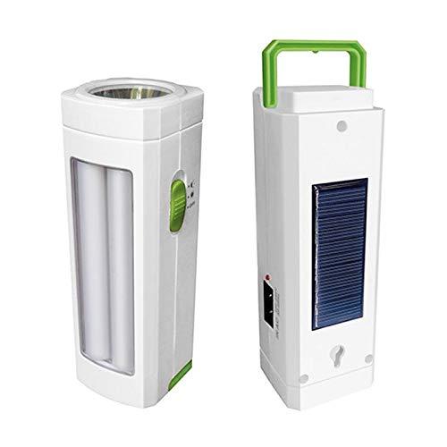 Torcia LED d'emergenza ricaricabile con pannello solare 24 Funzioni. Dimmerabile
