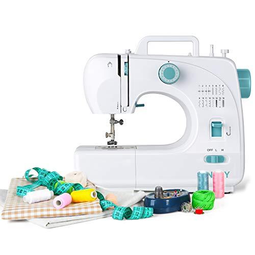 Máquina de coser mecánica y portátil INTEY