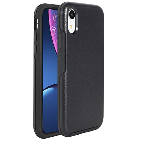 Krichit Ongoing Series Compatible with iPhone XR Case, Anti-Drop and Shock-Absorbing case Compatible with iPhone XR Case (Black)