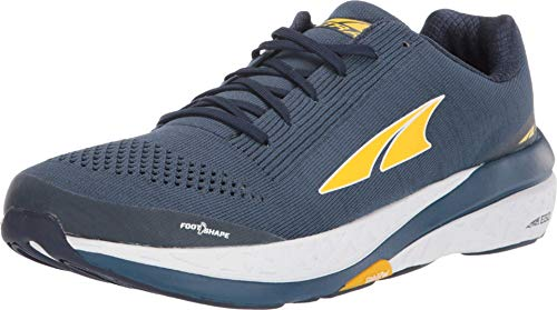ALTRA Men's ALM1948G Paradigm 4.5 Road Running Shoe, Blue/Yellow - 8 M US