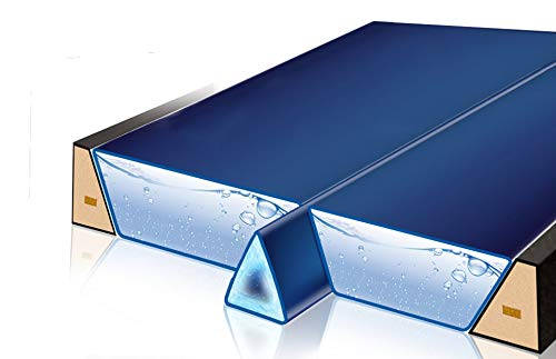 Gelkeil Trennkeil Modell 2018 für Wasserbetten/Thermo Gel-Keil Trennwand Trennung Isolierung (210 cm Länge (real 198 cm))