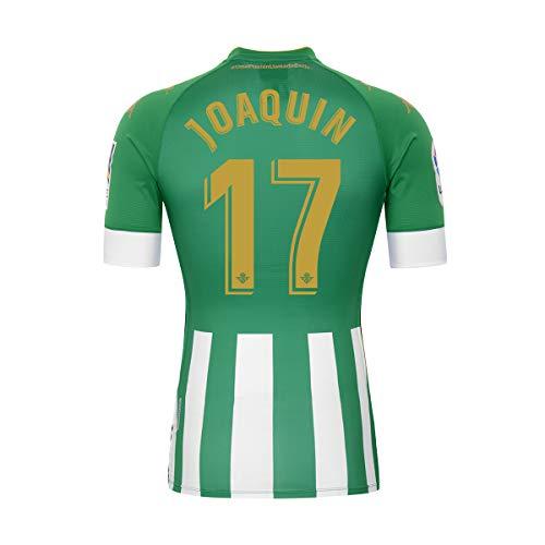 Kappa 3118ZCW_AMZ_901_8Y - Camiseta 17 Joaquín, 8Y, Verde/Blanco