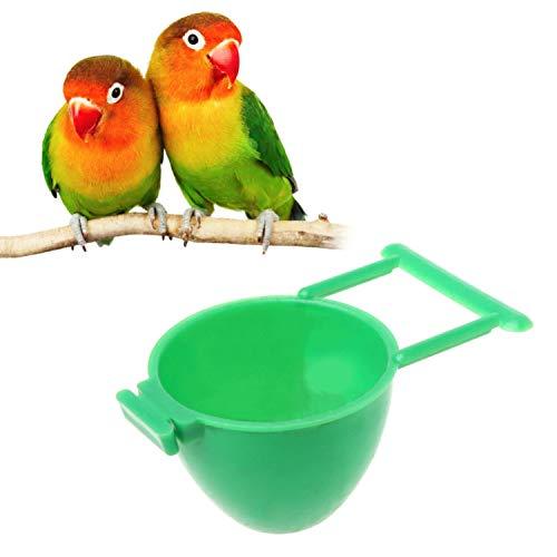 JOYOTER Joyter Vogelfutterstation für Papageien, Obst-Eier, Käfig zum Aufhängen von Haustieren