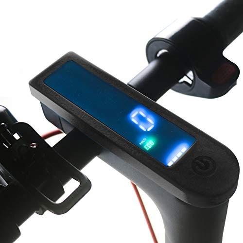 Nicoone wasserdichte Silikon Instrument Abdeckung für Ninebot MAX G30 Elektrische Roller Roller Abdeckung mit Klebeband Roller Ersatz Teil Zubehör Schwarz