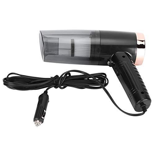 Aspiradora de coche, herramienta de limpieza de coche portátil de 120 W y 12 V, para alérgenos de pelo de polen de polvo