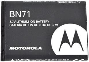 Black OEM Standard Replacement Battery 1170 mAh BN71 For Motorola Barrage V860