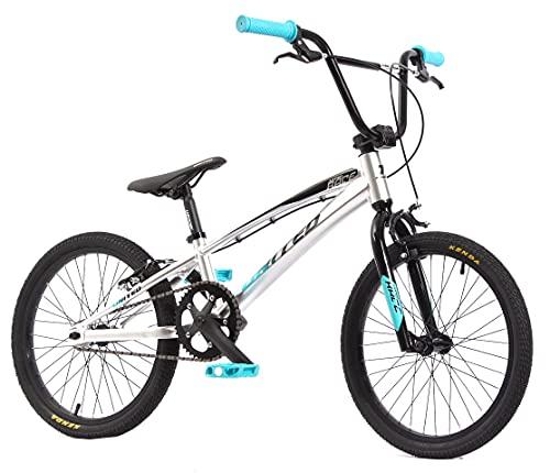 KHE BMX rower United Pumptrack Jumper srebrny 20 cali aluminium tylko 9,6 kg!