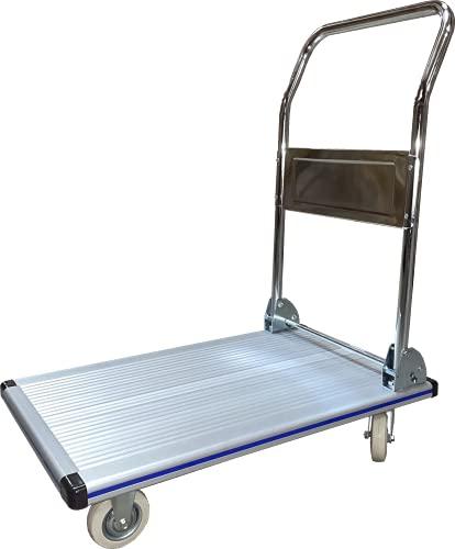 Pake Handling Tools - Aluminum FoldingHandlePlatformTruck 29.5