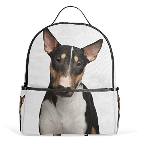 Orediy Bull Terrier Puppy Hond Rugzakken School Boek Tas Casual Reizen Dagpack voor Jongens Meisjes