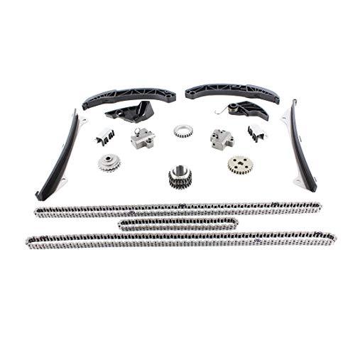 DNJ TK174A Timing Chain Kit for 2006-2015 / Hyundai, Kia/Borrego, Genesis, Genesis Coupe, Santa Fe, Sedona, Sonata, Sorento / 3.3L, 3.5L, 3.8L / DOHC / V6 / 24V / VIN 1, VIN D,