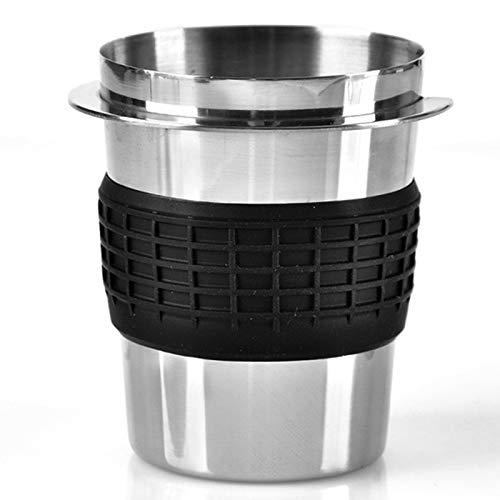 Naliovker Edelstahl Kaffee Pulver PräZisions Dosier Becher für Ek43 Kaffee MüHle ZubehöR Kaffee Dosier Becher Fr Haus DIY Werkzeuge