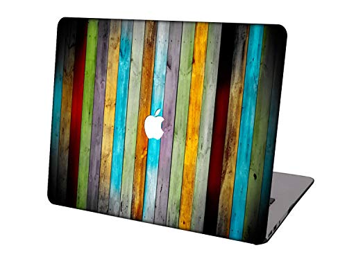 Laptop Case for Newest MacBook Pro 15 inch Model A1707/A1990,Neo-wows Plastic Ultra Slim Light Hard Shell Cover Compatible Macbook Pro 15 inch,Wood grain A 29