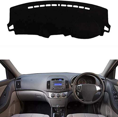 Benature Pour Hyundai Elantra Avante 2008-2010 Cubierta del Salpicadero Dash Mat Fundas De Salpicadero para Coche Antideslizante Material Aislante