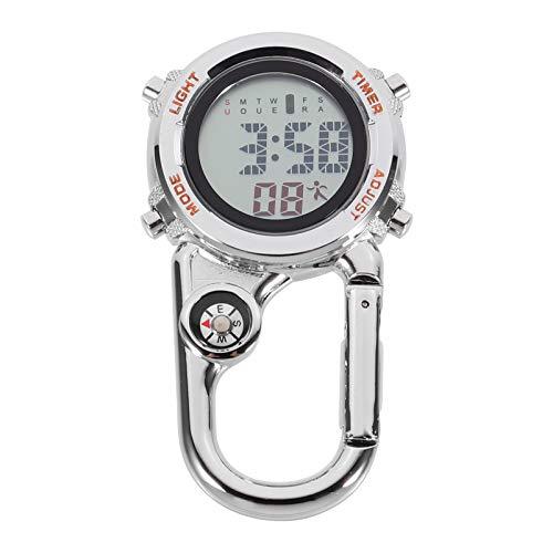 UKCOCO Reloj Mosquetón Multiusos con Gancho Colgante para Alpinismo Al Aire Libre