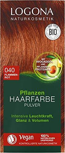 Logona Bio PHF Pulver 040 flammenrot (6 x 100 gr)