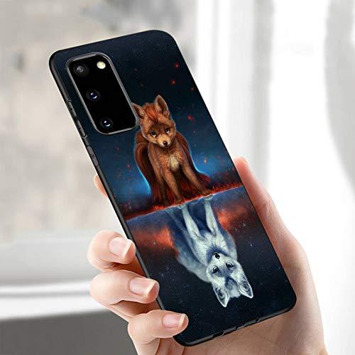 N-B Panda Phone Casefor Samsung A50 A40 A70 A51 A71 A20 A20 E S10 S20 S9 S8 S7 Edge Ultra Puls Note1098 Plus Cases Matte Soft T P U