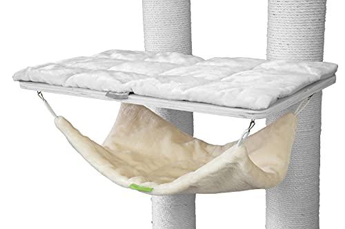 Kratzbaumland Fallschirm passend für Natural Paradise und Woody Kratzbaum Ersatzteil (Creme)