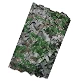 LAIGUI Woodland Red de Camuflaje Camuflaje Neta for la Caza Que acampa Militares del Ejército de Disparo de protección Solar Redes de Malla Nets, Toldo, Decoración del Partido Nets (Size : 9x10m)