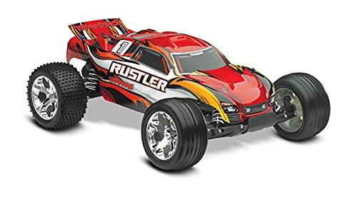 Traxxas 37054-1-REDX Traxxas Rustler XL-5 Truck Ready-To-Race TQ 2 Channel 2.4Hz
