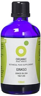 Organic Herbal Remedies 100 ml Ginkgo Biloba Tincture from Organic Herbal Remedies