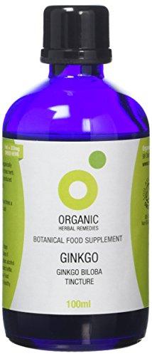 Organic Herbal Remedies 100ml Ginkgo Biloba Tincture