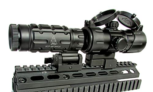 Leapers FTS Magnifier With Red Dot Sight Combo