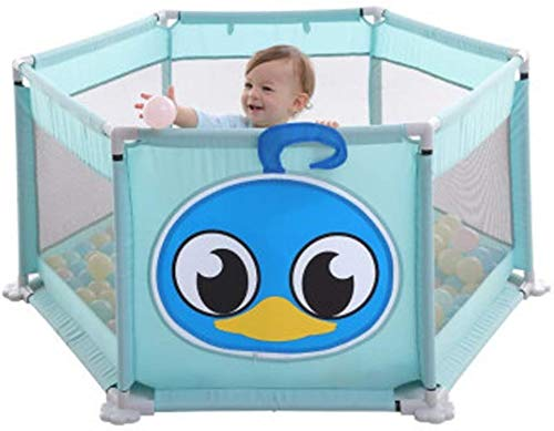GFF Baby Crawl Toddler Fence Baby Playpen PortableStrong and Durable Play Pen for Indoor Outdoor Safety Hauteur: 65cm
