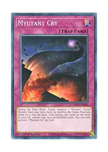 遊戯王 英語版 PHRA-EN000 Myutant Cry (ノーマル) 1st Edition