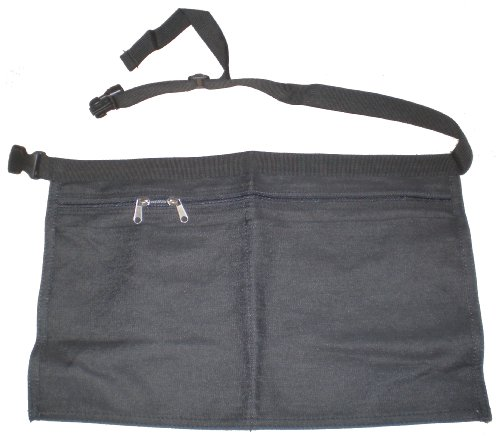 Denim Market Trader Money Belt (Black)
