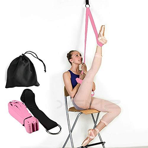 Banda elástica para piernas, entrenador de flexibilidad de puerta, Mejorar...