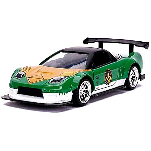 Ricambio per Power Rangers Green Ranger 2002 Honda NSX scala 1:32 Veicolo in metallo pressofuso