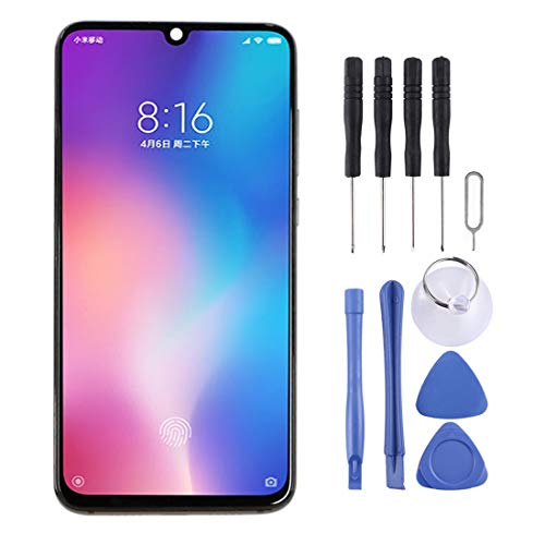 GGAOXINGGAO Pantalla de reemplazo del teléfono móvil Pantalla LCD de Material AMOLED y ensamblaje Completo del digitalizador para Xiaomi Mi 9 Accesorios telefónicos