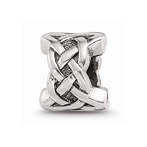925 Sterling Silver Charm For Bracelet Irish Claddagh Celtic Knot Bead Fine Jewelry For Women Gifts For Her