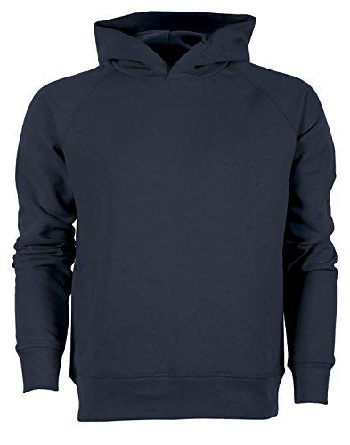 YTWOO Herren Hoodie, Kapuzenpullover aus 85% Biobaumwolle und 15% Polyester, Herren Bio Pullover, Herren Bio Hoodie, Herren Sweater Baumwolle (Bio) (L, Navy)