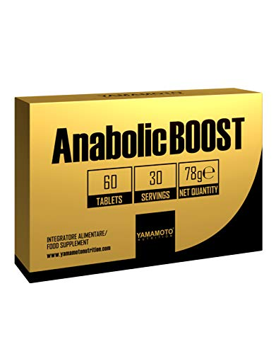 Yamamoto Nutrition Anabolicboost 60 Compresse - 120 Gr
