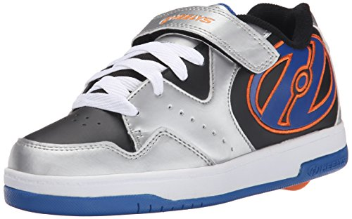Heelys Rollschuhe Hyper 770542 (Silver Black royal orange) Gr. 40.5