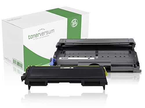 Toner und Trommel kompatibel zu Brother TN-2000 DR-2000 für HL-2030 HL-2040 MFC-7420 MFC-7820n DCP-7010 DCP-7010L Fax 2820 2825 2920 Laserdrucker Spar-Set