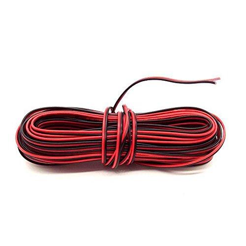 BlueXP 10M Rot und Schwarz Draht Silikon Gummi Draht rot schwarz Dual Core Elektronische Kabel Draht sind häufig Bei Leuchten und elektronische Verdrahtung
