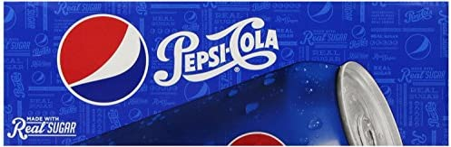 Pepsi Real Sugar 12 Ounce 24 Cans product image