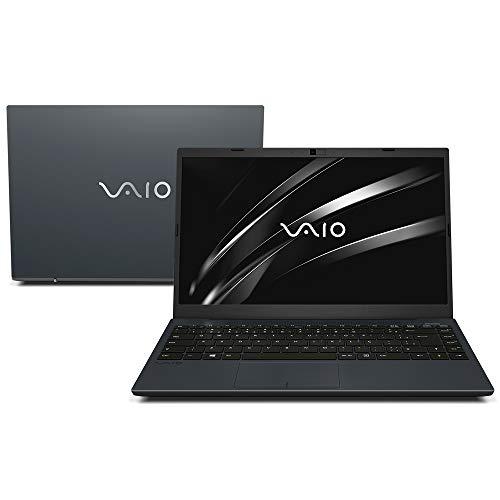"Notebook VAIO FE14 VJFE43F11X-B0421H Intel Core i5-1035G1 8GB 1TB 14"" Full HD Linux - Chumbo Escuro"