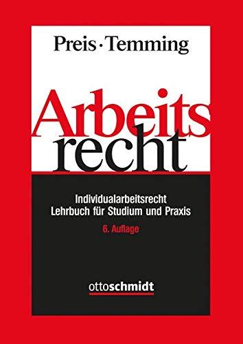 Arbeitsrecht - Individualarbeitsrecht: Lehrbuch für Studium und Praxis: Lehrbuch fr Studium und Praxis